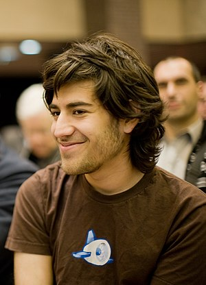 English: Aaron Swartz at a Creative Commons event.