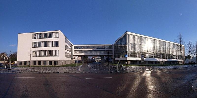 Bauhaus Building, School of Modern Design, Germany