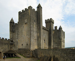 Château de Beynac, situated in the village of ...