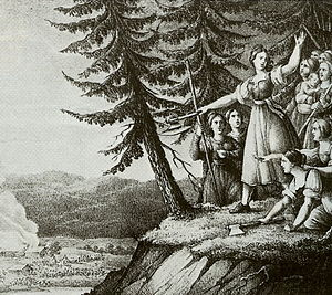 The girls of Småland, by Hugo Hamilton (1830)