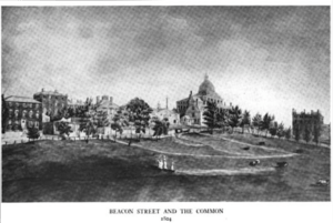 Boston Common, ca.1804