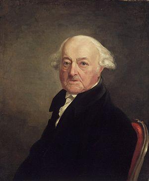 John Adams, ca 1816, by Samuel F.B. Morse (Bro...