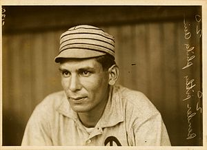 Chief (Charles Albert) Bender, pitcher and inf...
