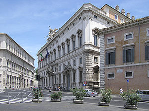 The Constitutional Court of Italy in Palazzo d...