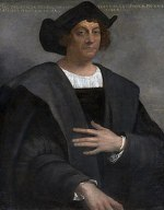 Christophorus Columbus, portrait by Sebastiano...