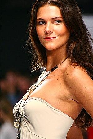 Brazillian model Daniella Sarahyba at the XIII...