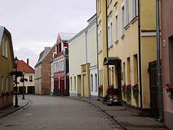 Kėdainiai old town