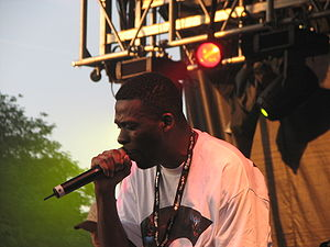 GZA at the Pitchfork Music Festival.