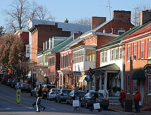 English: German Street, Shepherdstown, West Vi...