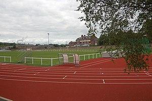 English: Hexham Sports track