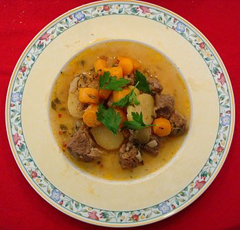 English: Deutsch: Irish Stew