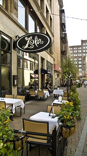 Michael Symon's Lola on East 4th Street in dow...