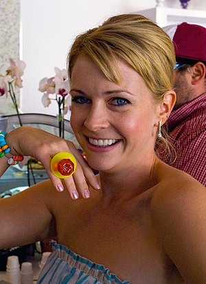 Portrait of Melissa Joan Hart at her Sweet Har...