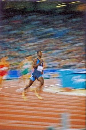 Double record holder Michael Johnson still hol...