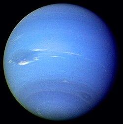 Neptün (Voyager 2' den çekilmiş)