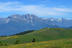 Presolana, Lombardy, Italian Alps