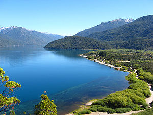 Lago Puelo, Argentina. 23 de Marzo de 2008.