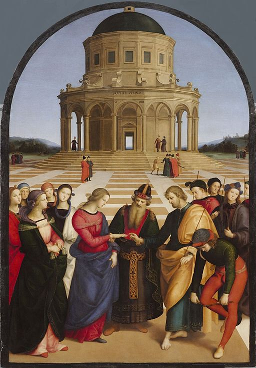 """""""The Marriage of the Virgin"""" by Raphael"""