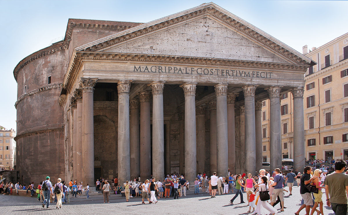 Image result for Pantheon in Rome, Italy
