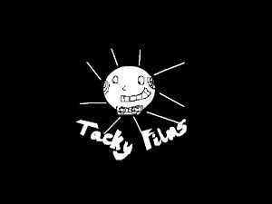 The logo for Tacky Films.
