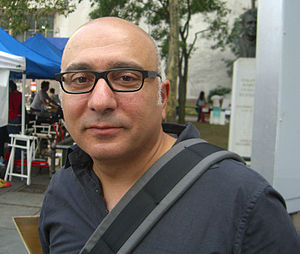 Writer Rawi Hage at the 2009 Brooklyn Book Fes...