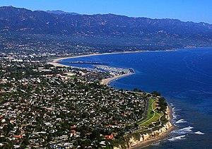 Aerial photo: Santa Barbara, California