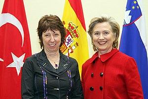 U.S. Secretary of State Hillary Rodham Clinton...