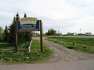 English: Ashton, Idaho.