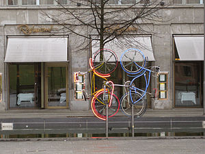 Germany, Berlin, Robert Rauschenberg, Riding B...