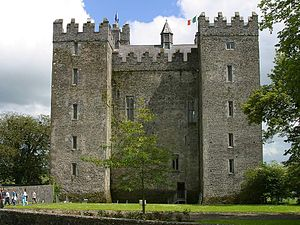 Bunratty Castle in Thomond, Ireland, was the b...