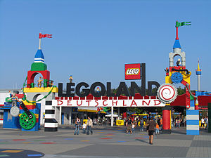 Entrance of Legoland Deutschland