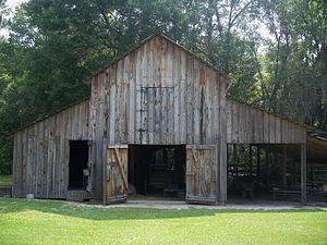 Barn on ' property in Cross Creek, Florida
