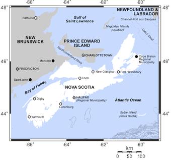 Boat Nova Scotia