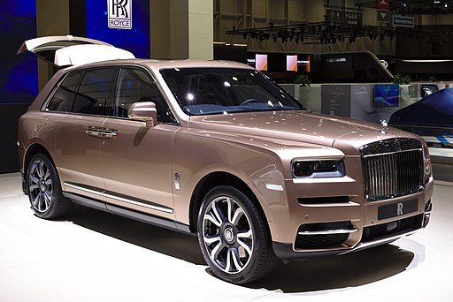 Rolls-Royce Cullinan Genf 2019 1Y7A5149