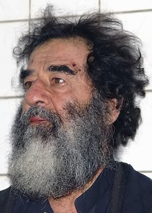 Saddam Hussein shortly after his capture. Deut...