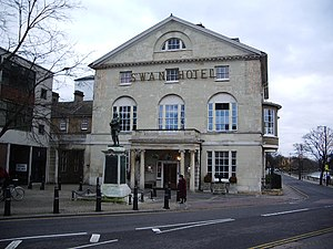 English: Swan Hotel, Bedford http://www.bedfor...