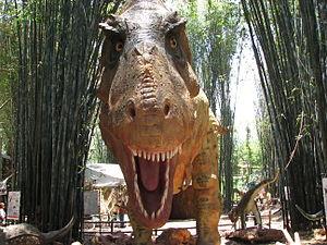 Replica del Tiranosaurio Rex