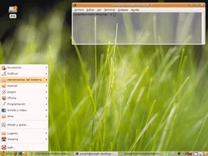 Escritorio GNOME de ubuntu perzonalizado, sin ...