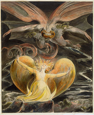 Blake's The Great Red Dragon and the Woman Clo...