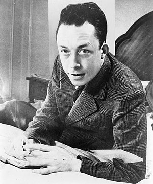 Français : Albert Camus, gagnant de prix Nobel...