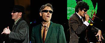 English: The Beastie Boys - Adam Horovitz, Ada...