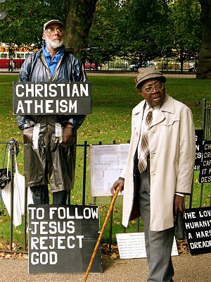 Christian Atheist (Peter Lumsden, d. 2007)