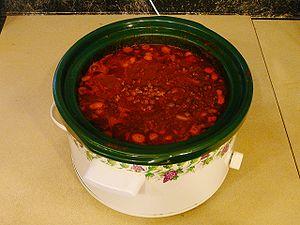 Homemade chili, self made