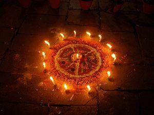 Dewali Festival, Kathmandu, Nepal