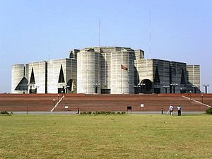 The National Assembly Building (Jatiyo Sangsha...