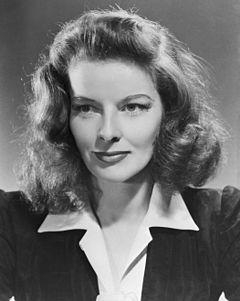 Portrait of Hepburn, 33 years old