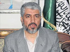 Khaled Mashal, leader of Hamas