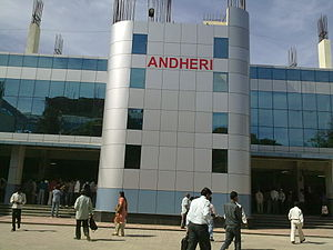 New Andheri Station East Bldg. Mumbai.