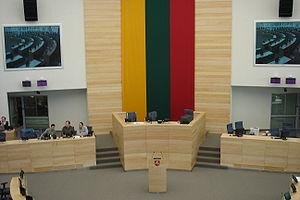 New Lithuanian Seimas Parliament Hall, opened ...