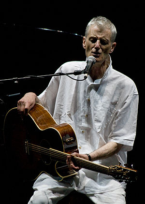 Peter Hammill onstage solo at Nearfest 09 in B...